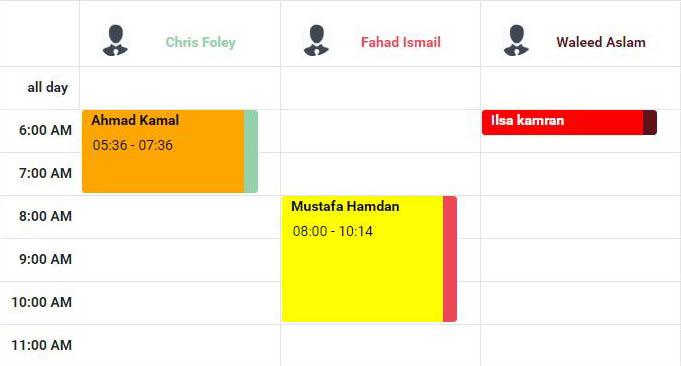 employee scheduling calendar app