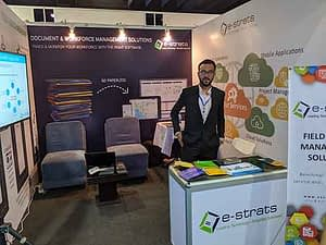 our booth at the event