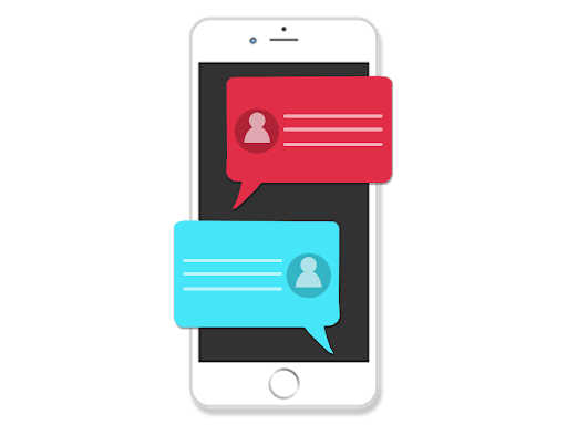 Field Technician Mobile app two-way communication chat