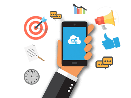 updates & notifications in Field workers mobile app