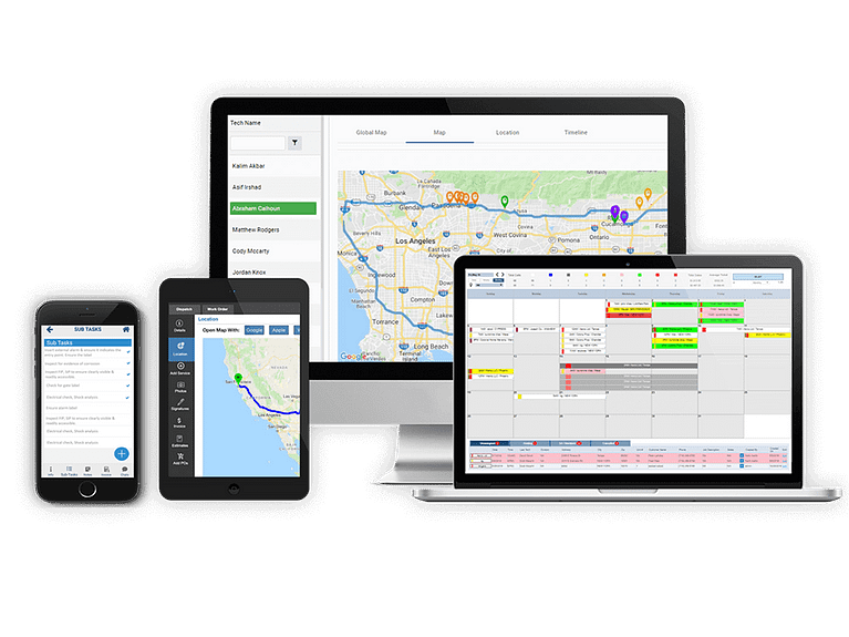 field service management software that runs on all devices