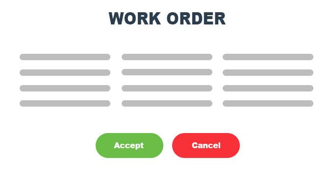 work order management details